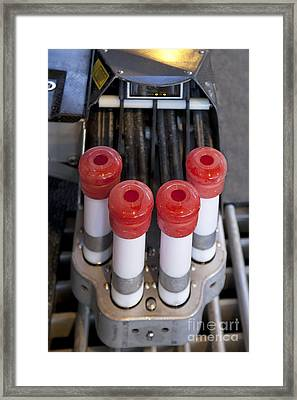 Automated Milking Machine Framed Print