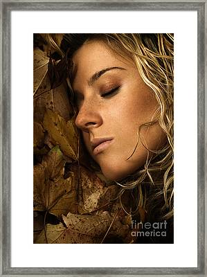 Autumn 04 Framed Print by Silvio Schoisswohl