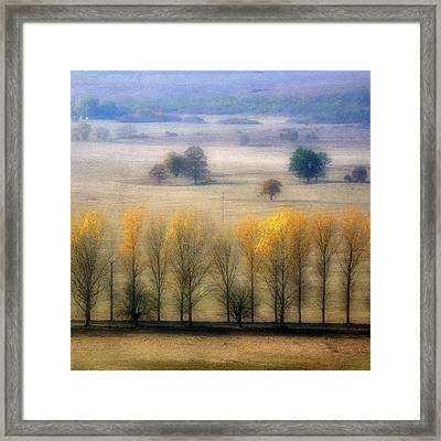 Autumn At Blumenthal Framed Print by Old&timer Imagery