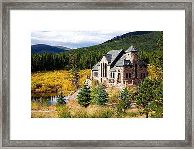 Framed Print featuring the photograph Autumn At St. Malo  by Jim Garrison