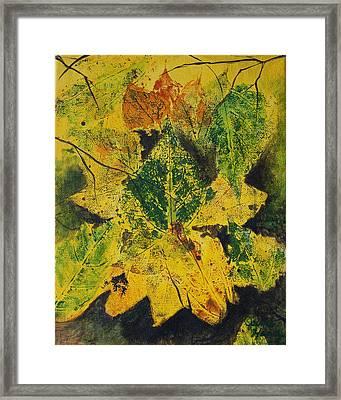 Autumn Boquet Framed Print