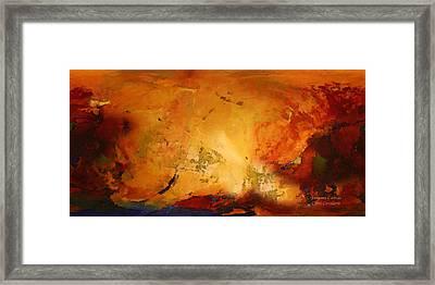 Autumn Canvas Framed Print