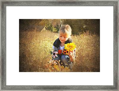 Autumn Colors Framed Print