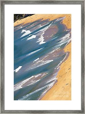 Autumn Day At Palm Beach Sydney Framed Print by Avalon Fine Art Photography
