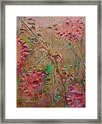 Framed Print featuring the painting Autumn Daze by D Renee Wilson