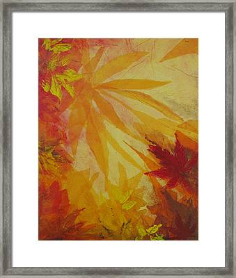 Autumn Essence Framed Print