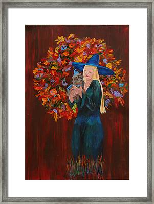Autumn Fantasy Framed Print by Gail Daley