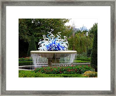 Autumn In Atlanta Framed Print by Renee Trenholm