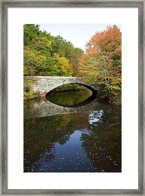 Autumn In Blackstone Valley Framed Print