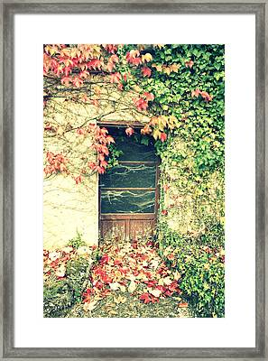 Autumn In France Framed Print by Georgia Fowler