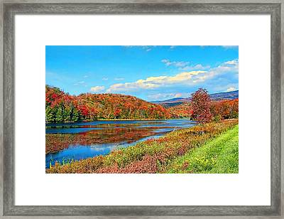 Autumn Invermont Framed Print