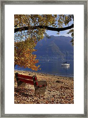 Autumn Framed Print by Joana Kruse