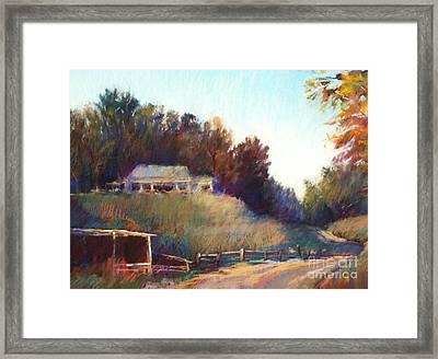 Autumn Light Framed Print by Pamela Pretty