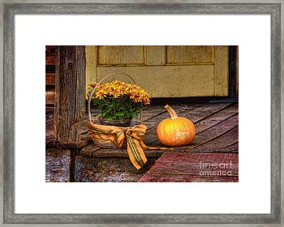 Autumn Framed Print by Lois Bryan