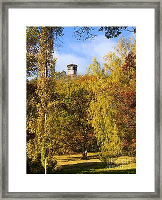 Autumn Lookout Framed Print