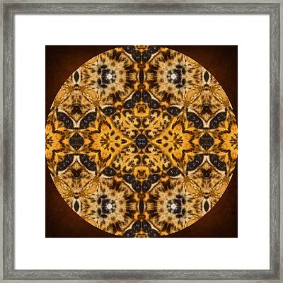 Autumn Mandala Framed Print
