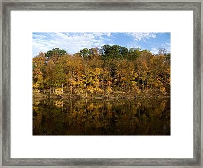 Autumn Mirror Framed Print