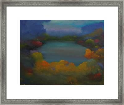 Autumn Mist Framed Print by David Snider