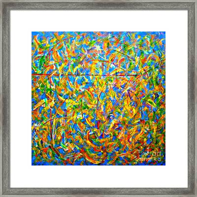 Autumn Music Framed Print by Vivian Anderson