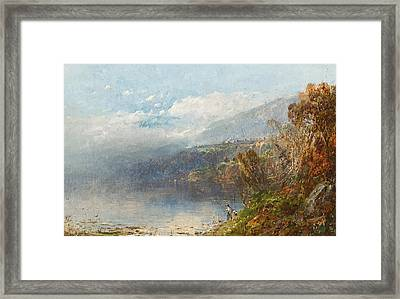 Autumn On The Androscoggin Framed Print