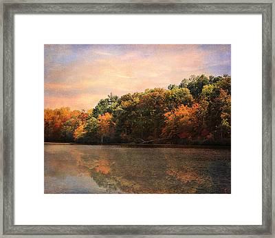Autumn Reflections 2 Framed Print by Jai Johnson