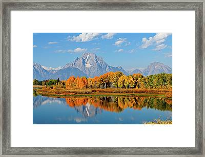 Autumn Reflections Framed Print by Greg Norrell