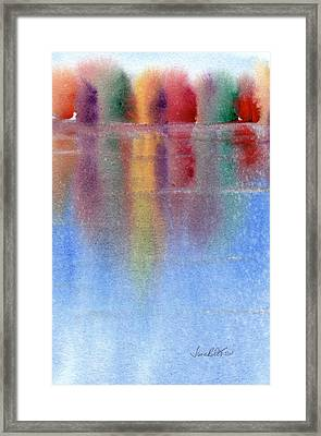 Autumn Reflections No. 1 Framed Print