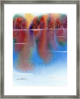 Autumn Reflections No. 6 Framed Print