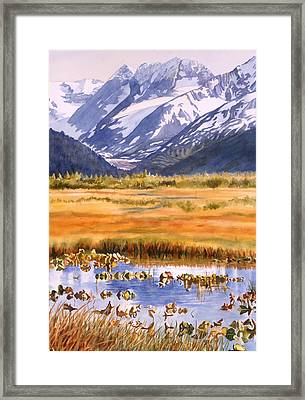 Autumn Reflections Framed Print by Sharon Freeman