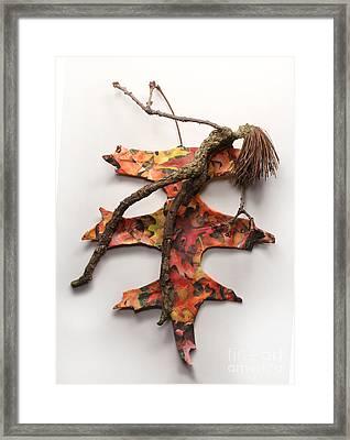 Autumn Release Framed Print by Adam Long