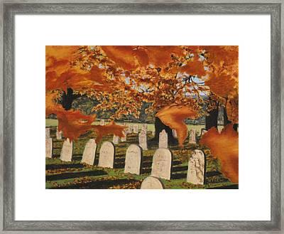 Autumn Serenity Framed Print