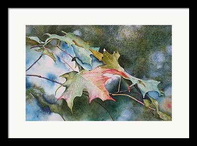 Close Focus Nature Scene Paintings Framed Prints