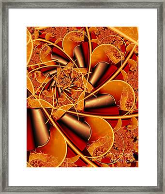 Autumn Spice Framed Print by Michelle H