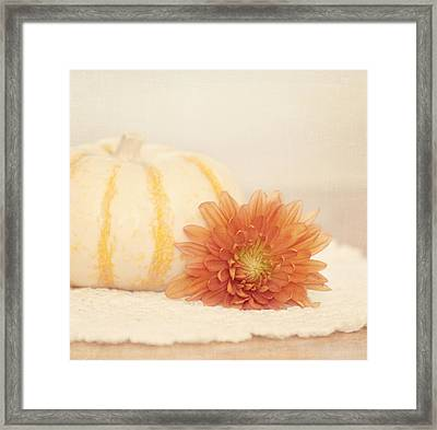 Autumn Splendor Framed Print by Kim Hojnacki