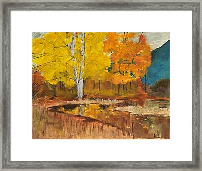 Autumn Tranquility Framed Print