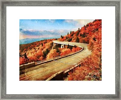 Autumn Views Framed Print by Darren Fisher