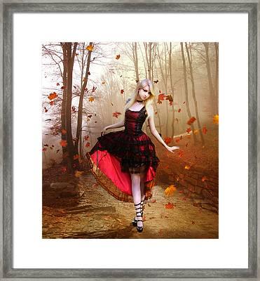 Autumn Waltz Framed Print