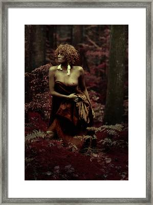 Autumns Child Framed Print by Naman Imagery