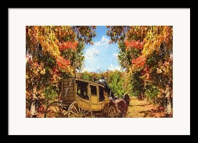 Buggy Whip Framed Prints