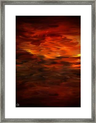 Autumn's Grace Framed Print by Lourry Legarde