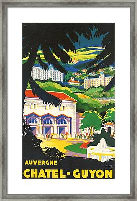 Auvergne France Framed Print