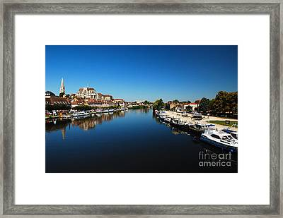 Auxerre France Framed Print by Hannes Cmarits