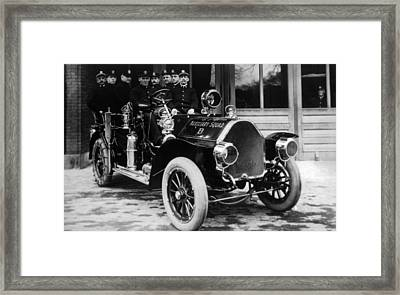 Auxiliary Squad, Springfield Framed Print by Everett