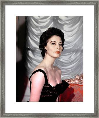 Ava Gardner, 1950s Framed Print by Everett