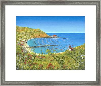 Avalon Catalina Island Framed Print by Jerome Stumphauzer