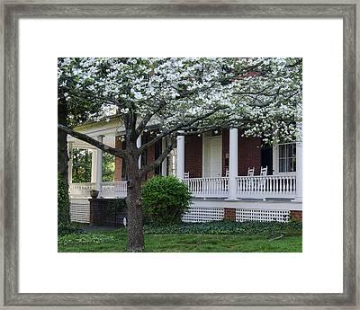 Avenel - Bedford - Virginia Framed Print by Steve Hurt