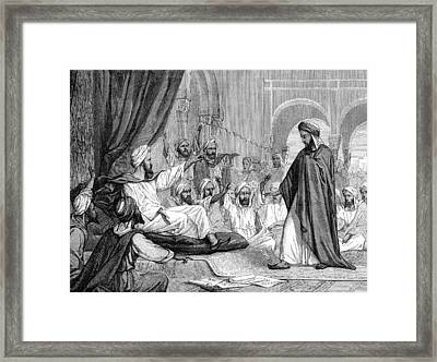 Averroes, Islamic Physician Framed Print by