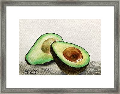 Avocado Framed Print by Prashant Shah