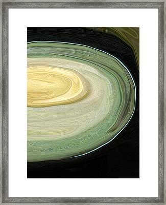 Avocado13 Framed Print by Linnea Tober