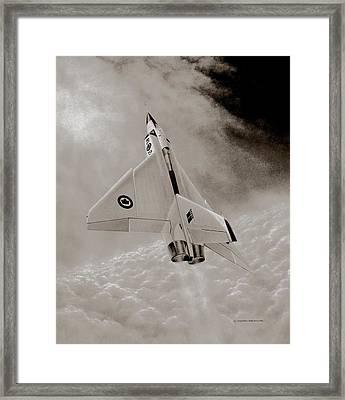 Avro Arow Ghost Flight Framed Print by Michael Swanson